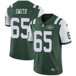 Limited Men's Eric Smith New York Jets Nike Team Color Vapor Untouchable Jersey - Green