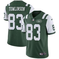 Limited Men's Eric Tomlinson New York Jets Nike Team Color Vapor Untouchable Jersey - Green