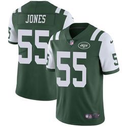 Limited Men's Fredrick Jones New York Jets Nike Team Color Vapor Untouchable Jersey - Green