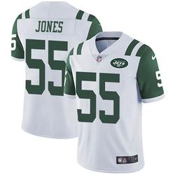 Limited Men's Fredrick Jones New York Jets Nike Vapor Untouchable Jersey - White