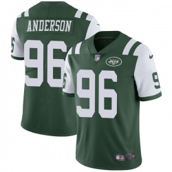Limited Men's Henry Anderson New York Jets Nike Team Color Vapor Untouchable Jersey - Green