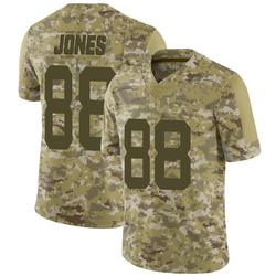 Limited Men's J.J. Jones New York Jets Nike 2018 Salute to Service Jersey - Camo