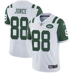 Limited Men's J.J. Jones New York Jets Nike Vapor Untouchable Jersey - White