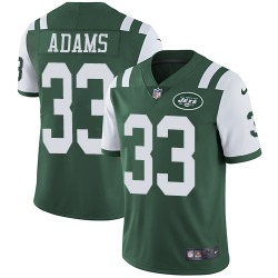 Limited Men's Jamal Adams New York Jets Nike Team Color Jersey - Green