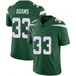 Limited Men's Jamal Adams New York Jets Nike Vapor Jersey - Gotham Green