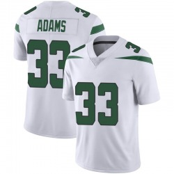 Limited Men's Jamal Adams New York Jets Nike Vapor Jersey - Spotlight White