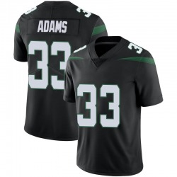 Limited Men's Jamal Adams New York Jets Nike Vapor Jersey - Stealth Black