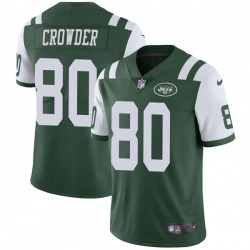 Limited Men's Jamison Crowder New York Jets Nike Team Color Vapor Untouchable Jersey - Green