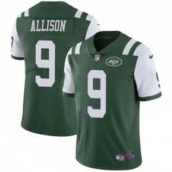 Limited Men's Jeff Allison New York Jets Nike Team Color Vapor Untouchable Jersey - Green