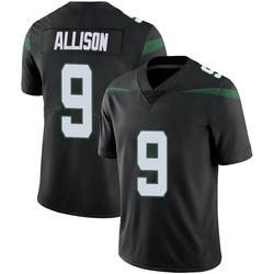 Limited Men's Jeff Allison New York Jets Nike Vapor Jersey - Stealth Black
