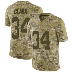 Limited Men's Jeremy Clark New York Jets Nike 2018 Salute to Service Jersey - Camo