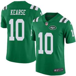 Limited Men's Jermaine Kearse New York Jets Nike Color Rush Jersey - Green