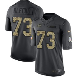 Limited Men's Joe Klecko New York Jets Nike 2016 Salute to Service Jersey - Black