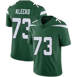 Limited Men's Joe Klecko New York Jets Nike Vapor Jersey - Gotham Green