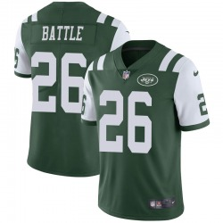 Limited Men's John Battle New York Jets Nike Team Color Vapor Untouchable Jersey - Green
