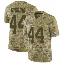 Limited Men's John Riggins New York Jets Nike 2018 Salute to Service Jersey - Camo