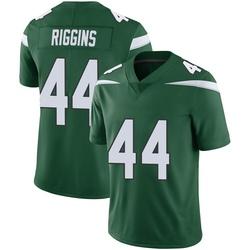 Limited Men's John Riggins New York Jets Nike Vapor Jersey - Gotham Green