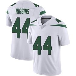 Limited Men's John Riggins New York Jets Nike Vapor Jersey - Spotlight White