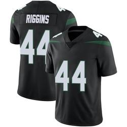 Limited Men's John Riggins New York Jets Nike Vapor Jersey - Stealth Black
