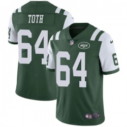 Limited Men's Jon Toth New York Jets Nike Team Color Vapor Untouchable Jersey - Green