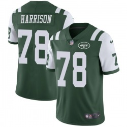 Limited Men's Jonotthan Harrison New York Jets Nike Team Color Vapor Untouchable Jersey - Green