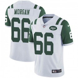 Limited Men's Jordan Morgan New York Jets Nike Vapor Untouchable Jersey - White