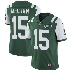 Limited Men's Josh McCown New York Jets Nike Team Color Jersey - Green