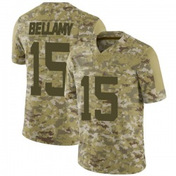 Limited Men's Joshua Bellamy New York Jets Nike 2018 Salute to Service Jersey - Camo