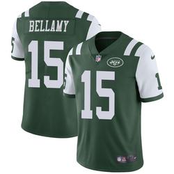 Limited Men's Joshua Bellamy New York Jets Nike Team Color Vapor Untouchable Jersey - Green
