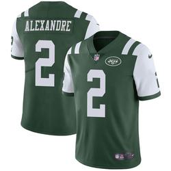 Limited Men's Justin Alexandre New York Jets Nike Team Color Vapor Untouchable Jersey - Green