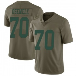 Limited Men's Kelechi Osemele New York Jets Nike 2017 Salute to Service Jersey - Green