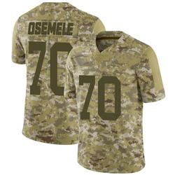 Limited Men's Kelechi Osemele New York Jets Nike 2018 Salute to Service Jersey - Camo