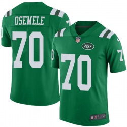Limited Men's Kelechi Osemele New York Jets Nike Color Rush Jersey - Green