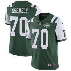 Limited Men's Kelechi Osemele New York Jets Nike Team Color Vapor Untouchable Jersey - Green