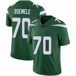 Limited Men's Kelechi Osemele New York Jets Nike Vapor Jersey - Gotham Green