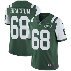 Limited Men's Kelvin Beachum New York Jets Nike Team Color Jersey - Green