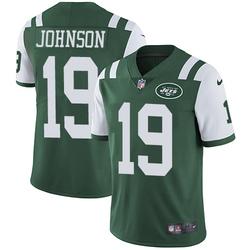 Limited Men's Keyshawn Johnson New York Jets Nike Team Color Jersey - Green