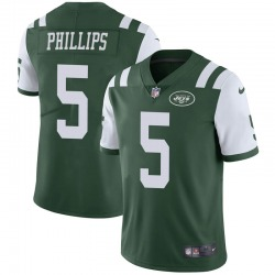 Limited Men's Kyle Phillips New York Jets Nike Team Color Vapor Untouchable Jersey - Green