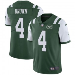 Limited Men's Kyron Brown New York Jets Nike Team Color Vapor Untouchable Jersey - Green