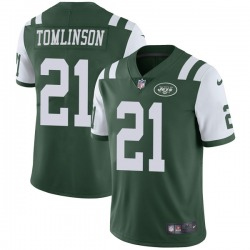 Limited Men's LaDainian Tomlinson New York Jets Nike Team Color Vapor Untouchable Jersey - Green