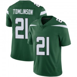 Limited Men's LaDainian Tomlinson New York Jets Nike Vapor Jersey - Gotham Green