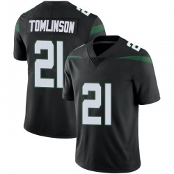 Limited Men's LaDainian Tomlinson New York Jets Nike Vapor Jersey - Stealth Black