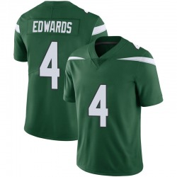 Limited Men's Lachlan Edwards New York Jets Nike Vapor Jersey - Gotham Green