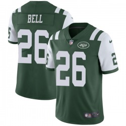 Limited Men's Le'Veon Bell New York Jets Nike Team Color Vapor Untouchable Jersey - Green