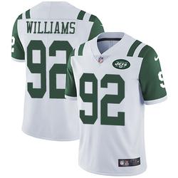 Limited Men's Leonard Williams New York Jets Nike Jersey - White