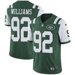 Limited Men's Leonard Williams New York Jets Nike Team Color Jersey - Green