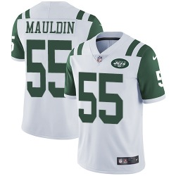Limited Men's Lorenzo Mauldin New York Jets Nike Jersey - White