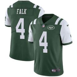Limited Men's Luke Falk New York Jets Nike Team Color Vapor Untouchable Jersey - Green