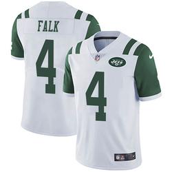 Limited Men's Luke Falk New York Jets Nike Vapor Untouchable Jersey - White