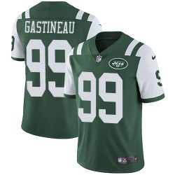 Limited Men's Mark Gastineau New York Jets Nike Team Color Jersey - Green
